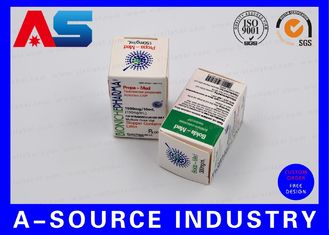 चीन Medical Science Carton Box 10ml Vial Boxes CMYK Regular Printing Glossy Box आपूर्तिकर्ता