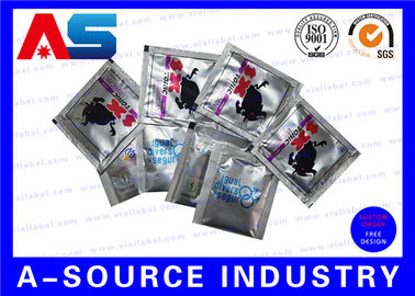 चीन Oral Jelly Pharmaceutical Aluminum Foil Bags Custom Logo Printing / 4 Sides Sealing फैक्टरी