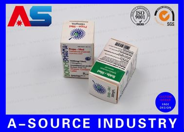 चीन Medical Science Carton Box 10ml Vial Boxes CMYK Regular Printing Glossy Box वितरक